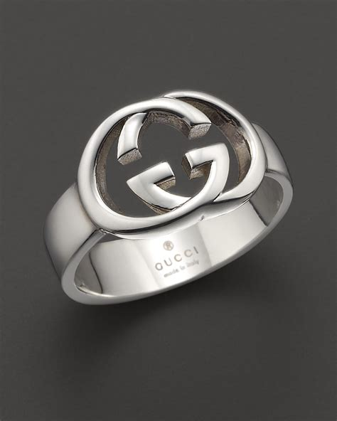 gucci sterling silver britt ring bloomingdale s