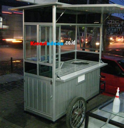 model gerobak aluminium  bermacam macam berdagang