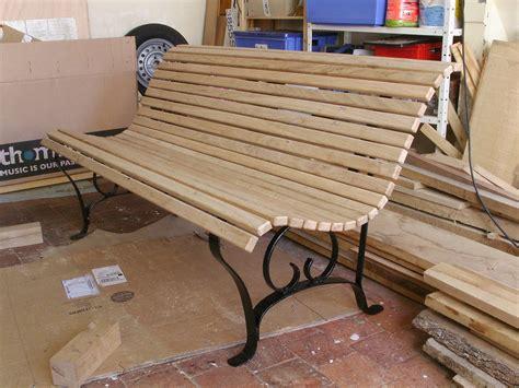 banc de jardin 1 2 histoires de bois