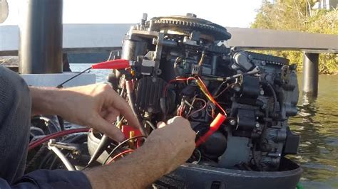 yamaha boat engine not starting no spark how to test cdi ignition on an outboard motor