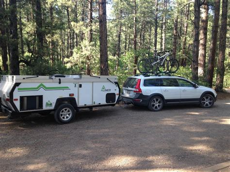 small camperpopup trailers towed by small car mtbrcom