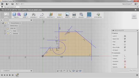 pattern sketch fusion 360 autodesk fusion 360 sketching training course
