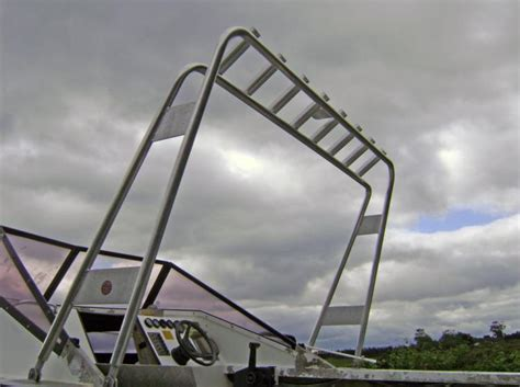boat rod holders rocket launcher custom aluminium boats rocket launcher rod holders