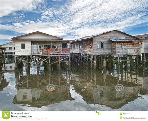 Beach House On Stilts stilt houses royalty free stock images image 17517519