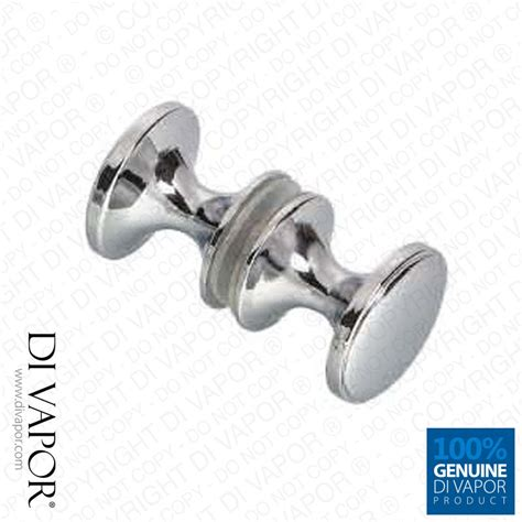 Shower Door Hardware Replacement Di Vapor R Shower Door Knobs Chrome Finish Sliding Shower Door Handles 5060387440849 Ebay