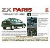 Citroen XM &amp ZX Brochure