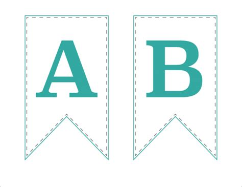 printable alphabet bunting template free printable bunting banner just a girl and her blog
