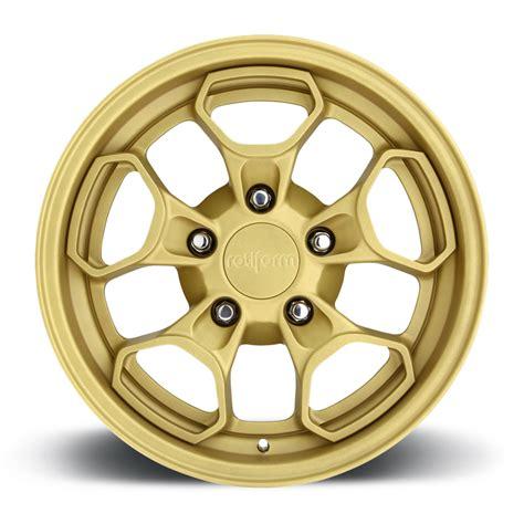 matte gold rotiform hur wheels socal custom wheels