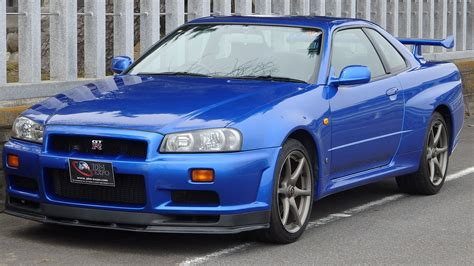 nissan r34 skyline gtr for sale in japan jdm expo import skyline nsx