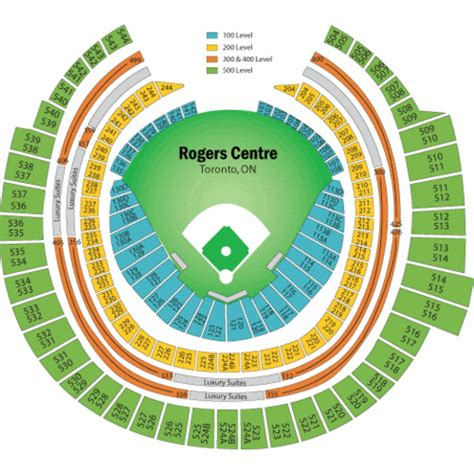 Rogers Centre Floor Plan | rogers centre seating chart rogers centre tickets rogers