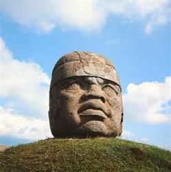 Head Curtain Giant Head Olmec Culture Stone Photograph By Pre Columbian