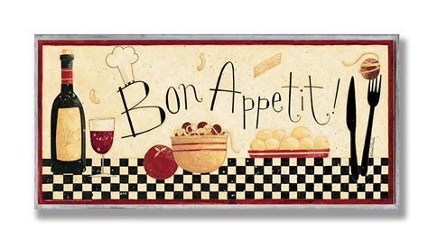 bon appetit kitchen collection the stupell home decor collection bon appetit kitchen wall