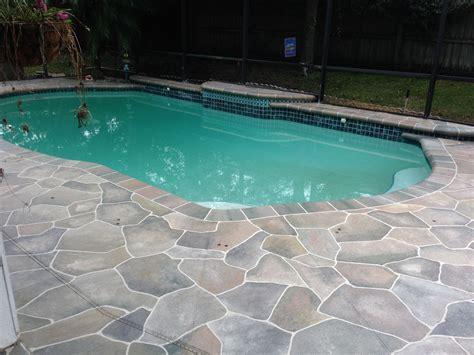 Pool Patio Design Concrete Designs Florida Pool Deck Decorating