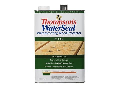 thompsons waterseal waterproofing wood protector clear