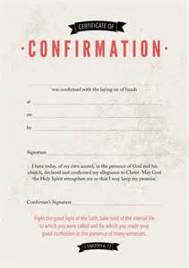 confirmation certificates templates confirmation certificate christian education publications