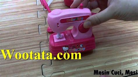 Mainan Set Mesin Cuci Vacum Cleaner permainan hello menjahit baju terbaru