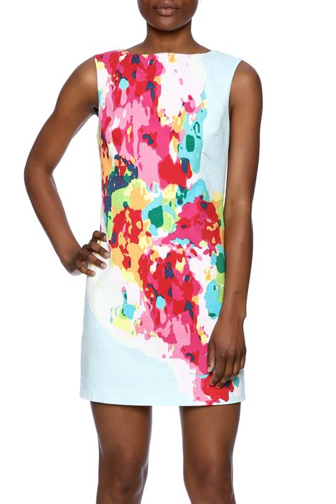 Abstrak Dress plenty by tracy reese abstract shift dress from portland