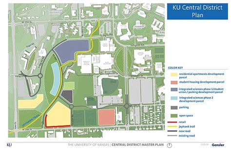 ku housing ku s plan for central district will transform sleepy 19th and iowa hillside into