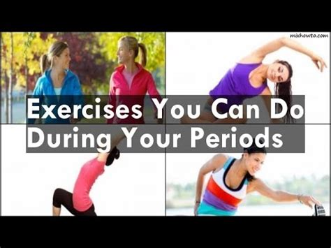 Doing A Detox During Your Period by Exercises You Can Do During Your Periods