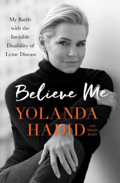 libro the siege winner of believe me my battle with the invisible disability of lyme disease by yolanda hadid hardcover