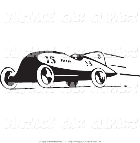 car logo black and white race cliparts