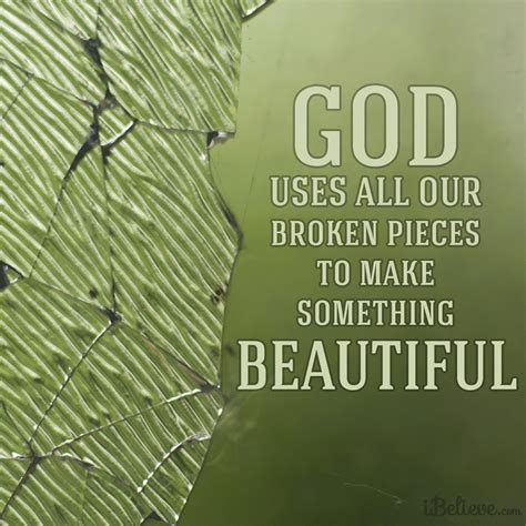 God Uses Broken by God Uses All Our Broken Pieces