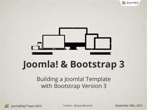 joomla template tutorial bootstrap joomla template with bootstrap 3 joomla day spain 2013