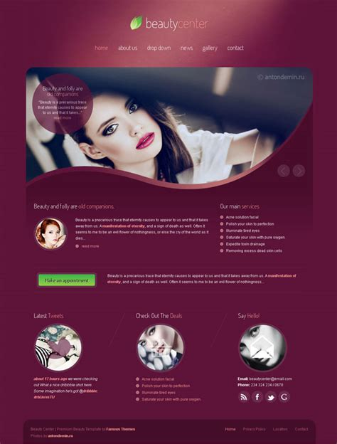 10  Best Spa & Salon WordPress Themes   MyThemes4WP