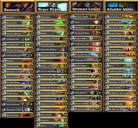 hearthstone basic decks hearthstone basic net decks 28 images the best free