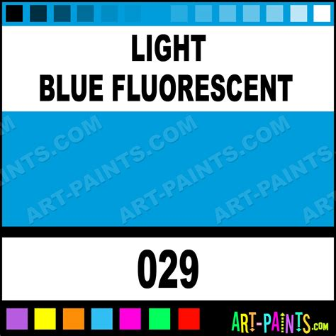 light blue acrylic paint light blue fluorescent flashe acrylic paints 029 light
