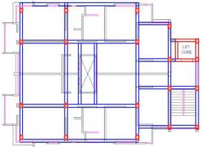 Beam Plans Import Drawing From Autocad To Staad Pro Part 1