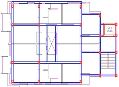 Beam Plans | import drawing from autocad to staad pro part 1