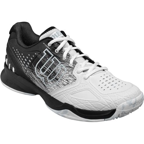 Kaos Adidas Black wilson mens kaos comp all court tennis shoes black white