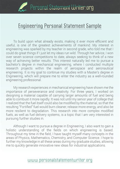 personal statement samples pssamples on pinterest