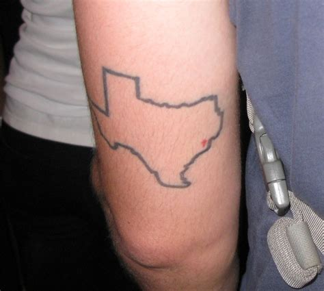 texas outline tattoo images designs