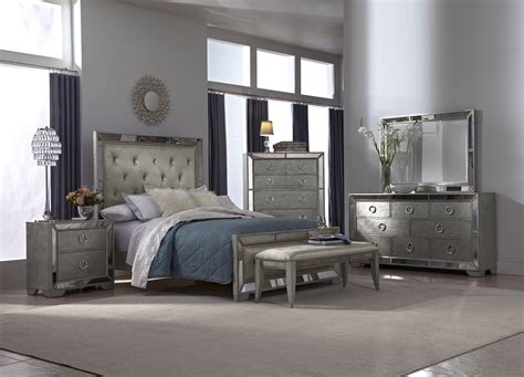 bedroom sets with mirrors silver mirrored bedroom furniture raya furniture