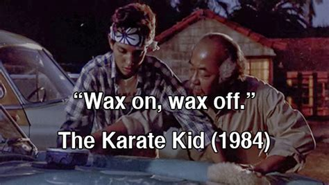 film quotes karate kid movie quotes from the 80s quotesgram