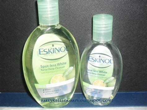 Toner Eskinol product review eskinol spot less white