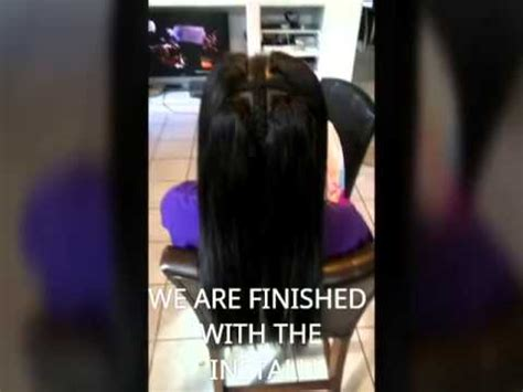 vixen sew in tutorial vixen sew in various hairstyles musica movil