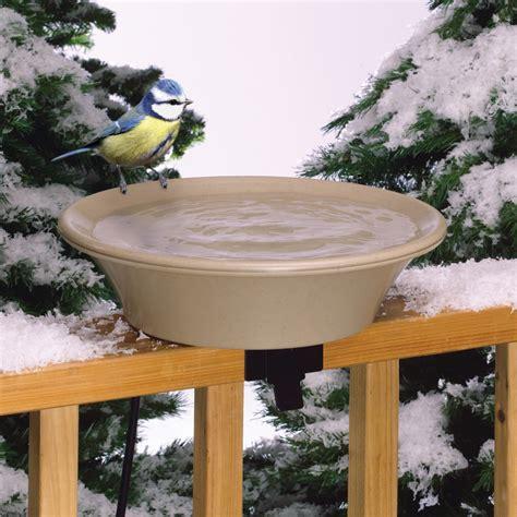 heated bathtubs heated bird bath with tilt mount the green head