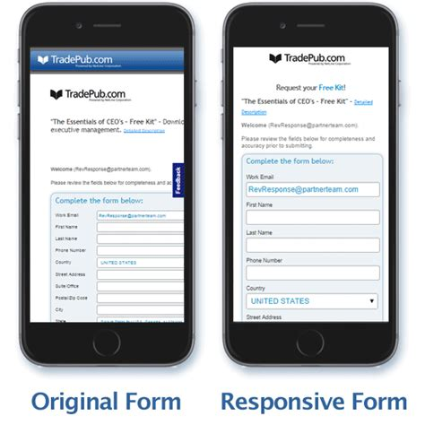 form design responsive major announcement responsive forms released revresponse