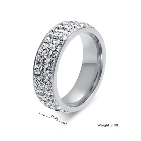 fashion jewelry finger rings platinum plated cheap