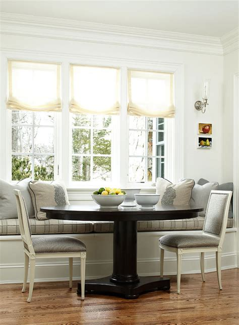 dining  style  beautiful banquettes  scout guide