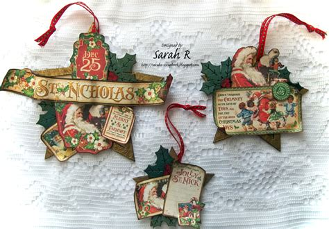 st nicholas christmas ornaments by sarah creative