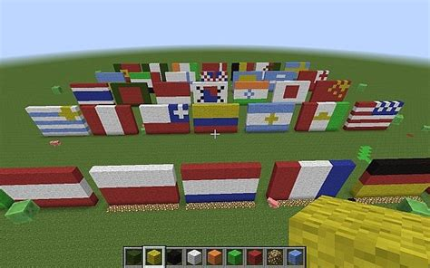 flags of the world minecraft flag valley minecraft project