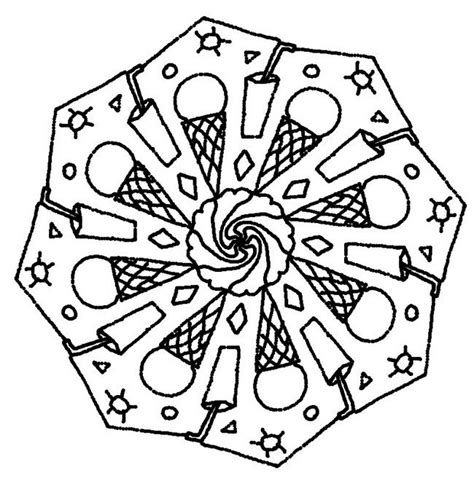 Summer Mandala Coloring Pages | coloring page summer s mandalas mandales pinterest