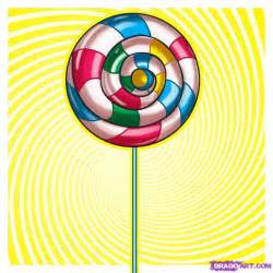 Steps Designs How To Draw A Lollipop Step By Step Food Pop Culture