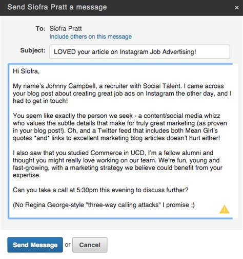 8 Simple Tips To Increase Your Linkedin Inmail Response Rates Linkedin Message Templates