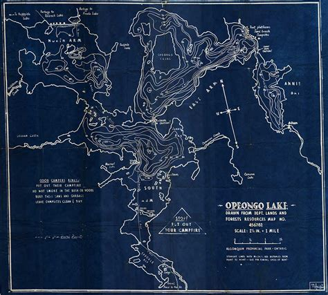 depth map lake opeongo fishing algonquin outfitters your outdoor adventure store
