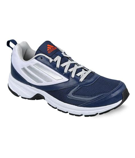 sport shoes for offers offer on adidas blue and white running sports shoes price
